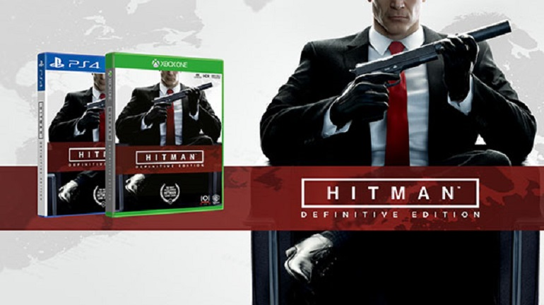 """Hitman: Definitive Edition"" para PS4 e Xbox One ganha data de lançamento"