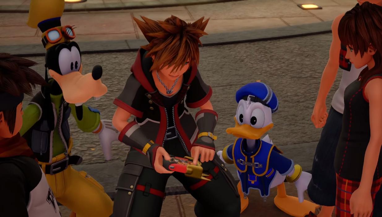 Kingdom Hearts 3 - Jogando Mini-games - Imagem