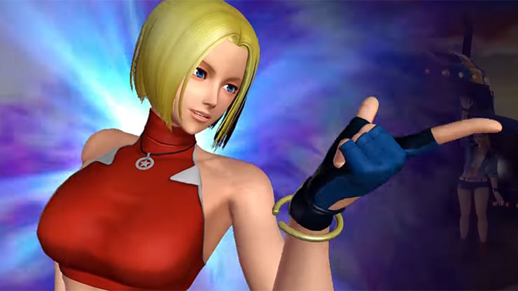 Blue Mary será adicionada este mês em The King of Fighters XIV