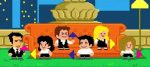 Warner compartilha abertura de Friends em versão 8 Bits