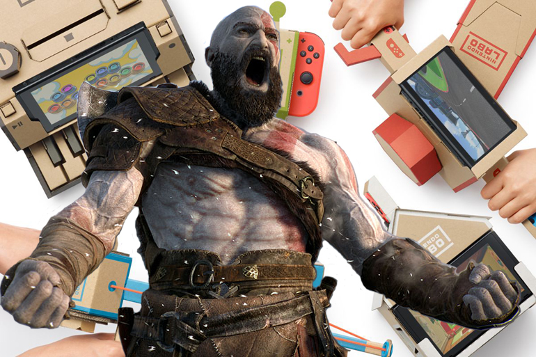 "Nintendo Labo supera vendas de ""God of War"" no Japão"
