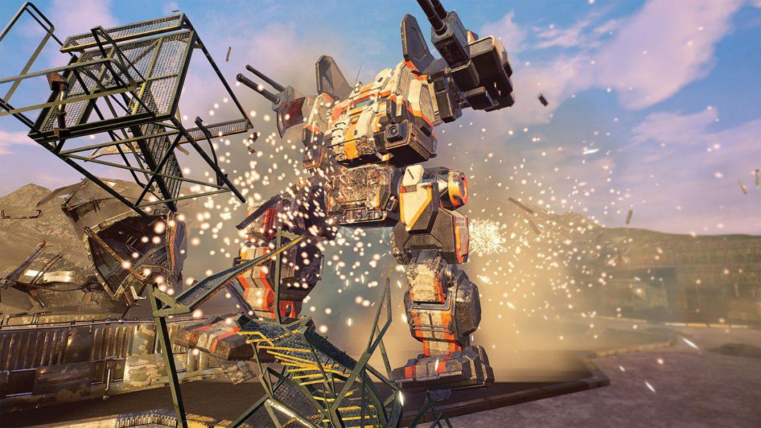 Destruição total no novo trailer de MechWarrior 5: Mercenaries