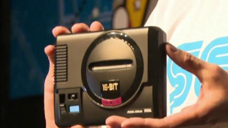 Sega anuncia modelo em miniatura do Mega Drive