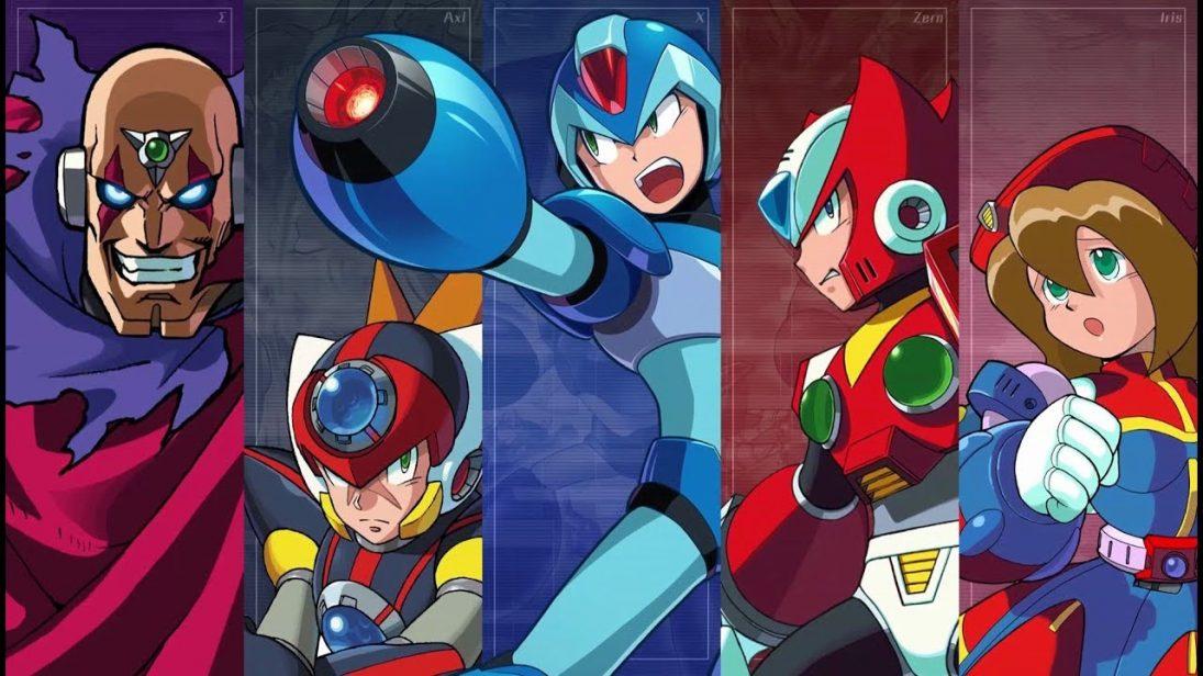 Mega Man X Legacy Collection 1 e 2 chegam em julho para consoles e PC