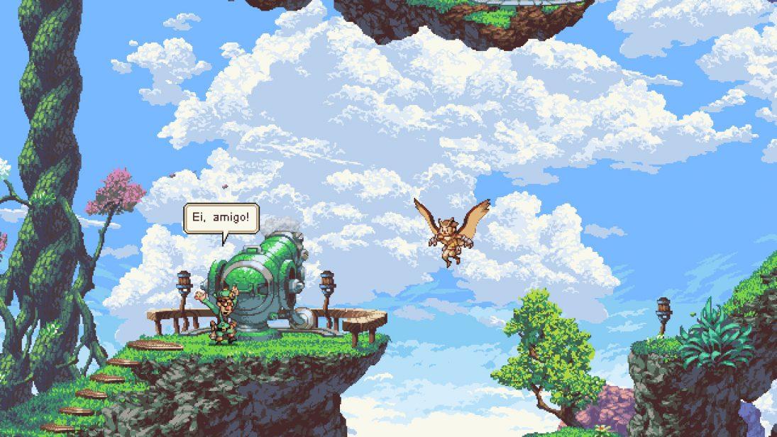 Owlboy, jogo estilo retrô, chega ao PS4 e Xbox One em 10 de abril