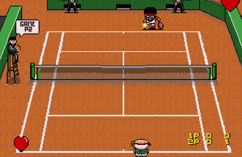 "Confira vídeo de ""Papi Commando Tennis"", novo game para Mega Drive"