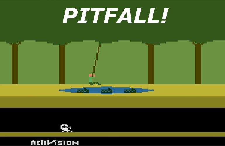 Pitfall! – O clássico que moldou as bases dos jogos de aventura/plataforma!