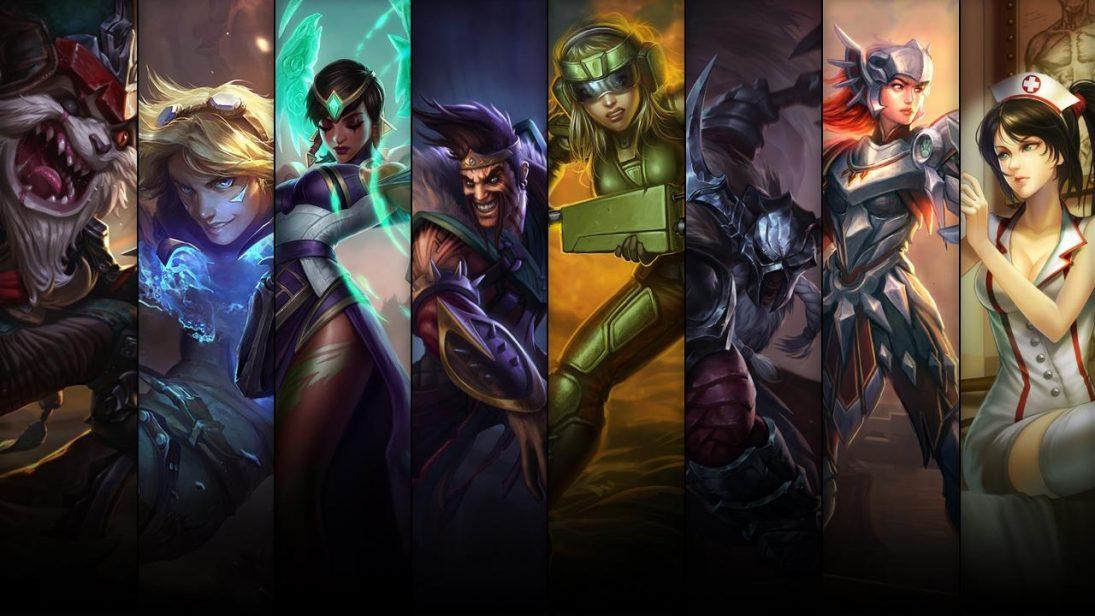Promoção de Campeões e skins do League of Legends até 09/04