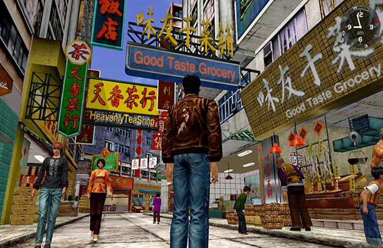 Sega divulga novas imagens da remasterização de Shenmue I & II