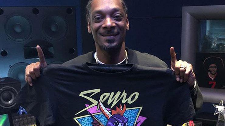 Snoop Dogg publica foto com camiseta de Spyro após anúncio do remaster