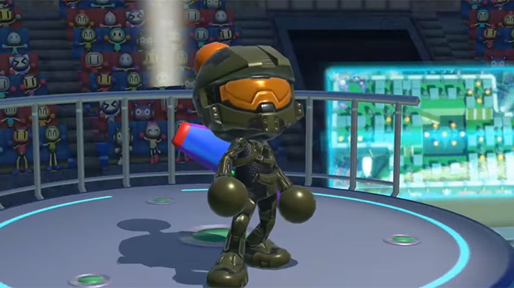 Trailers apresentam personagens de Super Bomberman R para PS4, Xbox One e PC