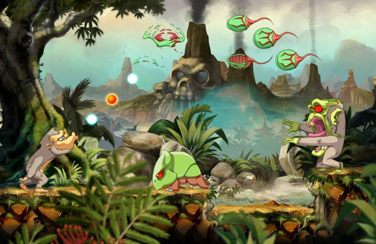 Clássico do macaco cuspidor Toki/Juju ganhará remake no Nintendo Switch