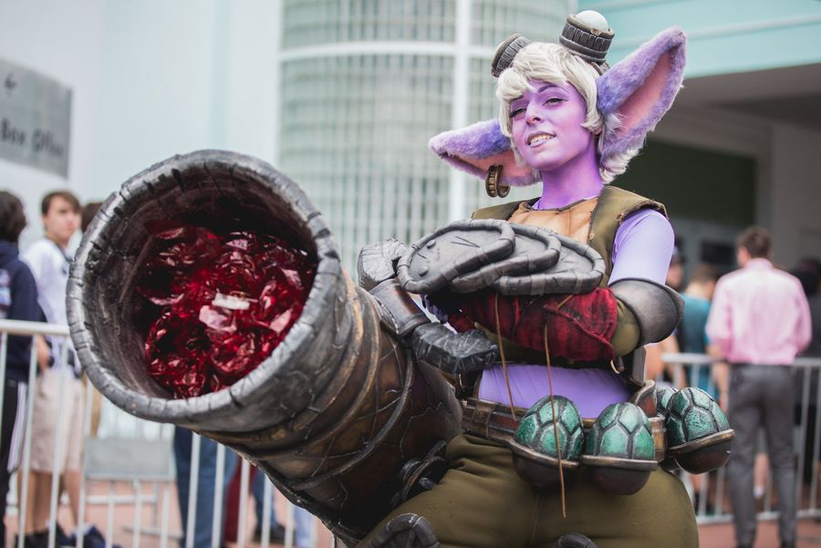Os 7 melhores cosplays da final da LCS NA, torneio de League of Legends