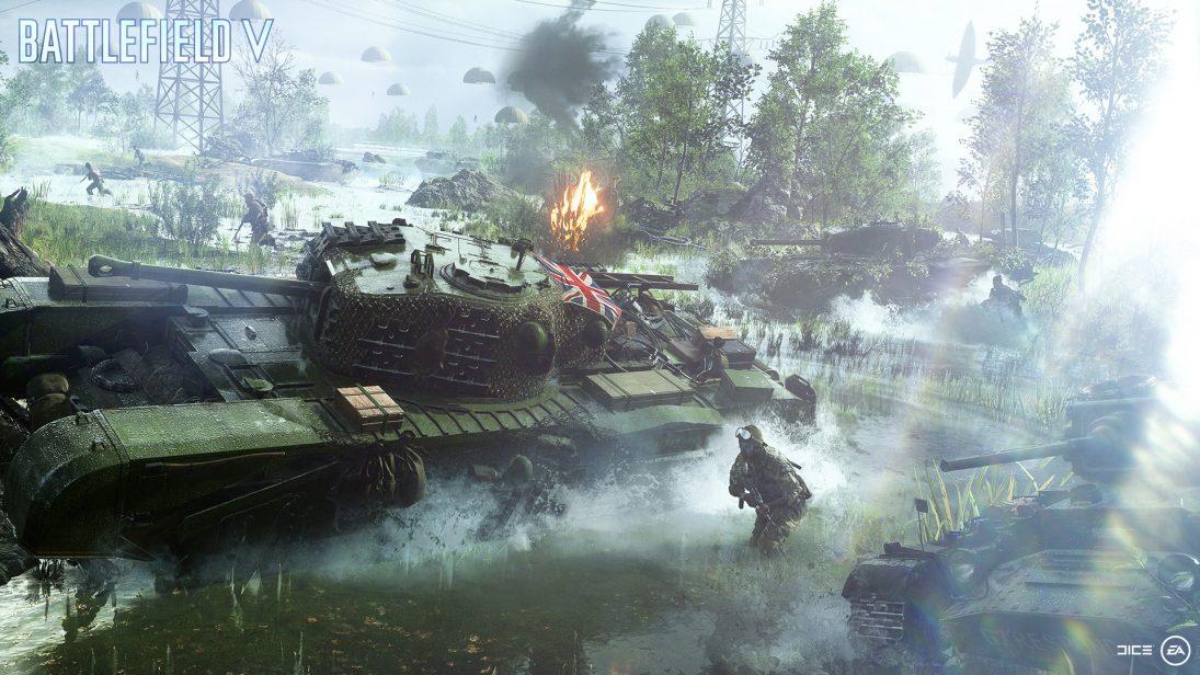 Versão para PC de Battlefield V terá aprimoramentos gráficos das placas GeForce GTX