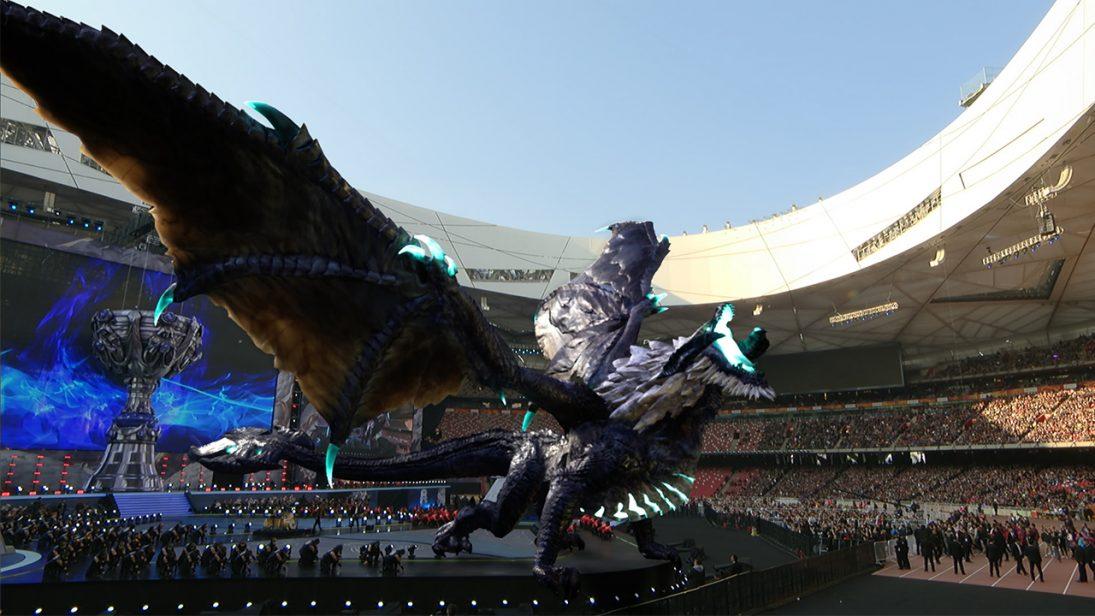 Riot Games ganha Sports Emmy por design de gráficos do Dragão do Mundial