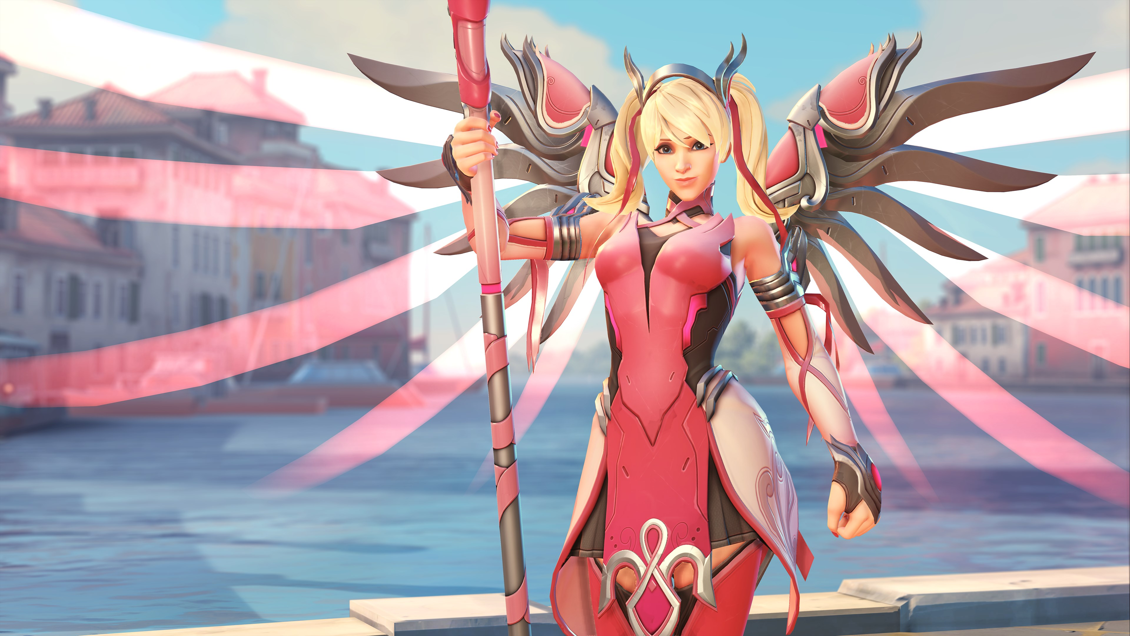 Overwatch - Mercy Rosa - 01