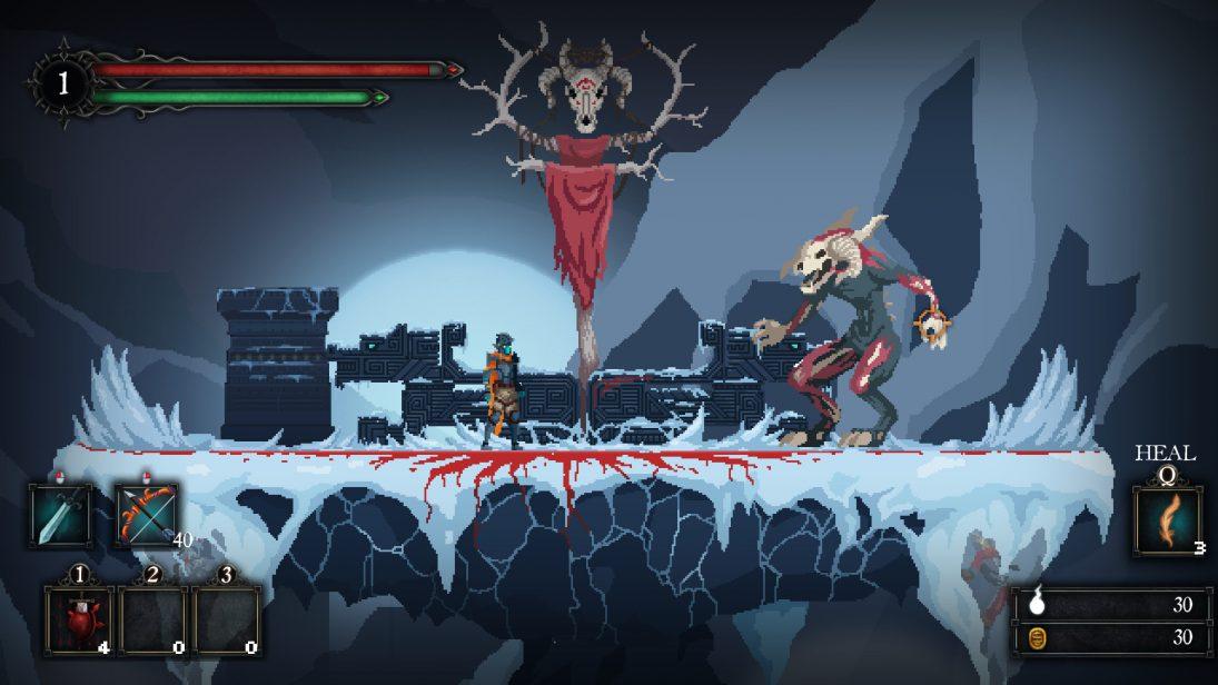 Novo Castlevania que sempre desejamos, Death's Gambit sai no dia 14 de agosto