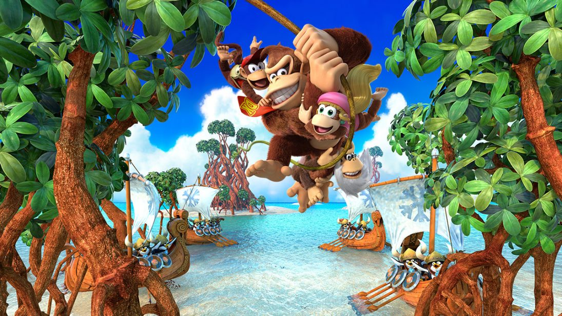 Donkey Kong Country: Tropical Freeze foi removido da eShop do Wii U