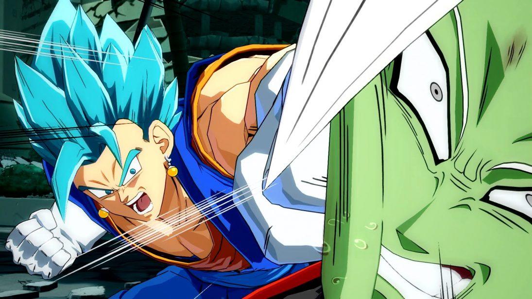 Vegetto SSJ Blue e Fusão Zamasu chegam no dia 31 de maio em Dragon Ball FighterZ