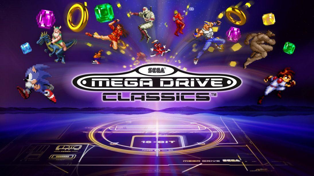 Lançado esta semana no PS4/X1, Sega Mega Drive Classics foi atualizado no Steam