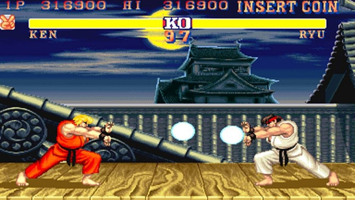 street fighter 5 vs screen