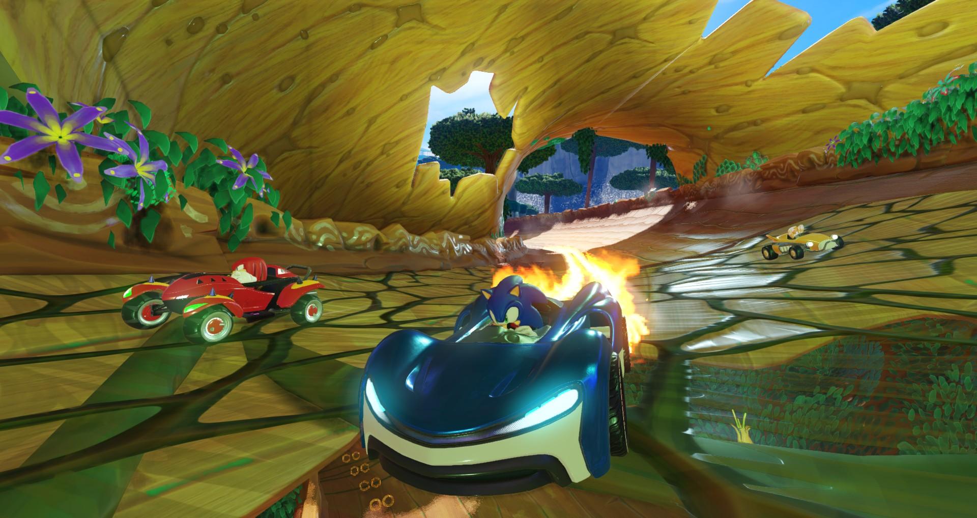 """Vazam detalhes e imagens de """"Team Sonic Racing"""", novo game de corrida do ouriço"""