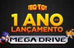 Um ano do lançamento do Mega Drive da Tectoy!