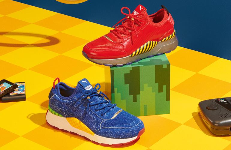 Tênis inspirados em Sonic e Dr. Robotnik ganham data de lançamento e preço