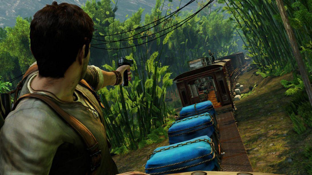 Vídeo revela segredos por trás da fantástica fase do trem de Uncharted 2