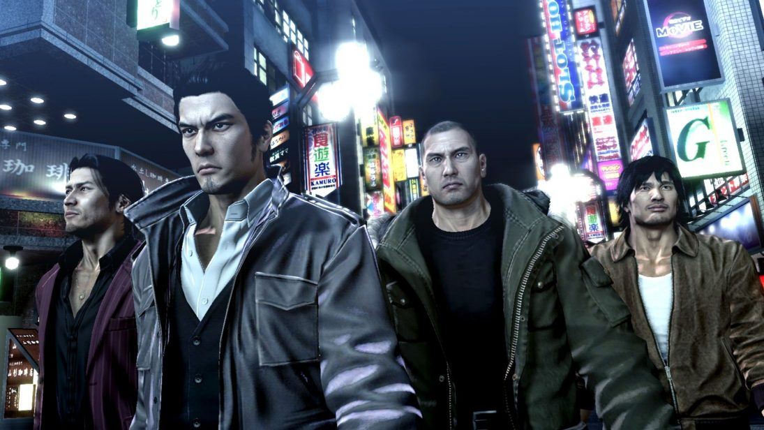 Yakuza 3, 4 e 5 ganharão remasterizações no PS4