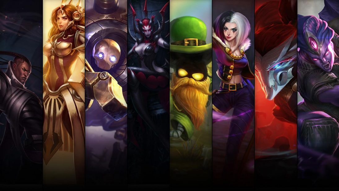 Promoção de Campeões e skins do League of Legends até 08/06