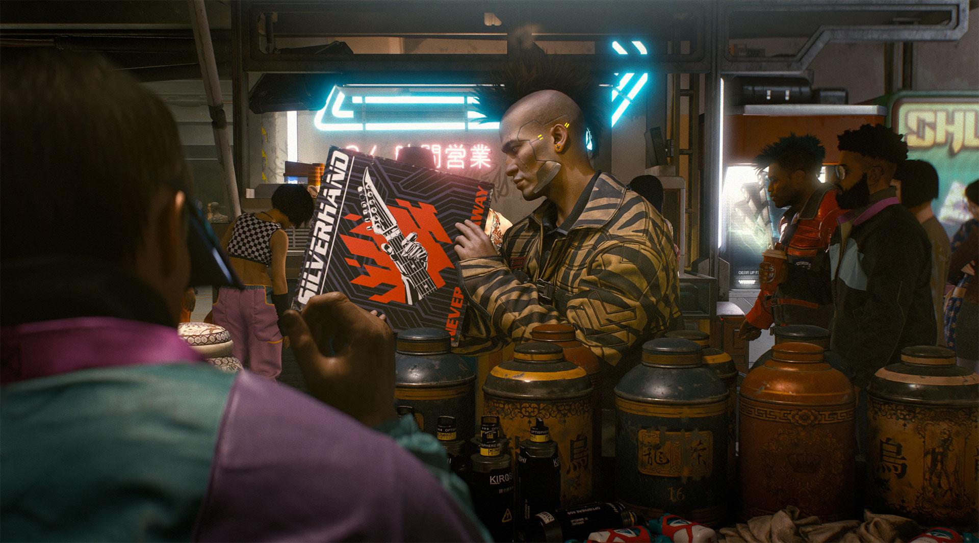 Cyberpunk 2077 é um RPG em primeira pessoa, esclarece CD Projekt
