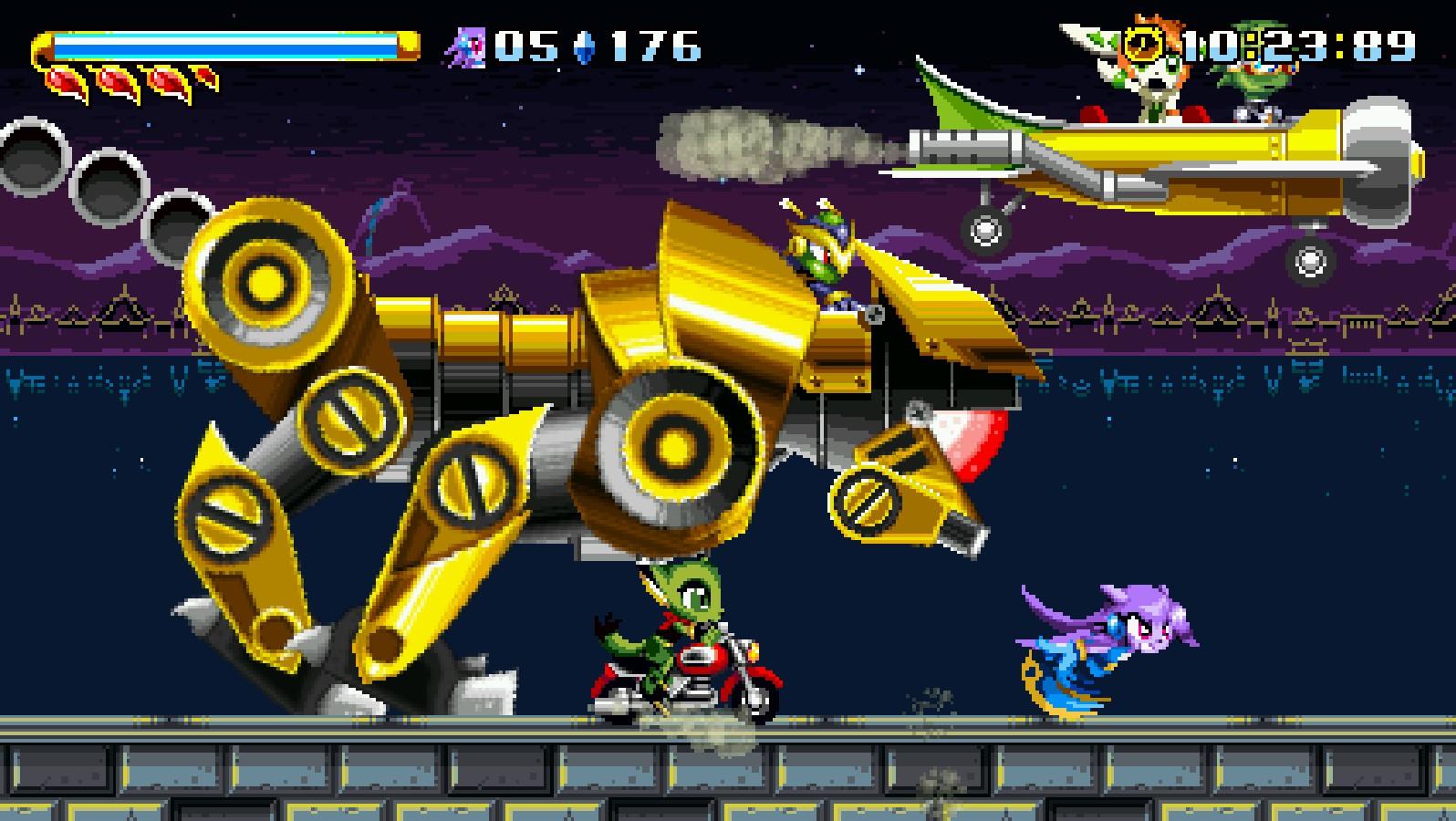 """Inspirado nos clássicos jogos de Sonic, """"Freedom Planet"""" é anunciado para Switch"""