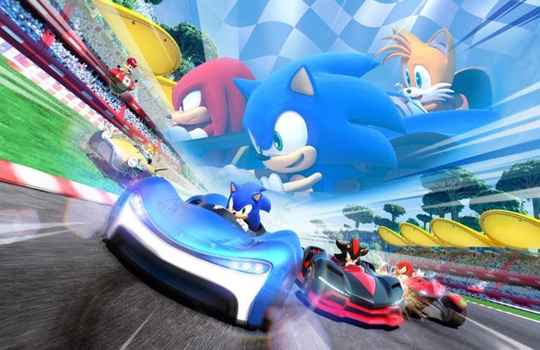 "Sega revela novo jogo de corrida ""Team Sonic Racing"""