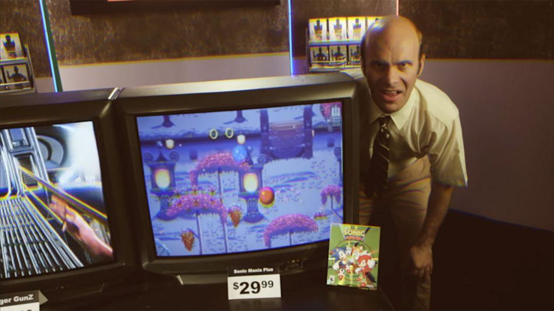 Sega recria comercial clássico dos anos 90 para Sonic Mania Plus