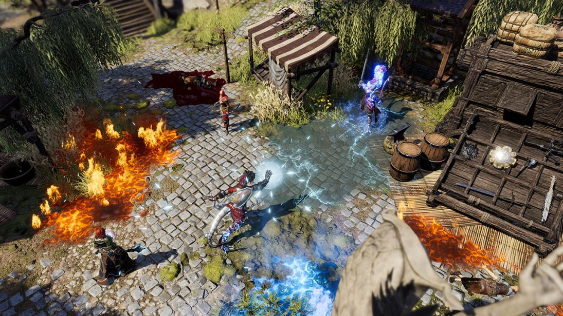 Divinity: Original Sin 2 - Definitive Edition no Xbox Game Preview com 4K nativo e HDR