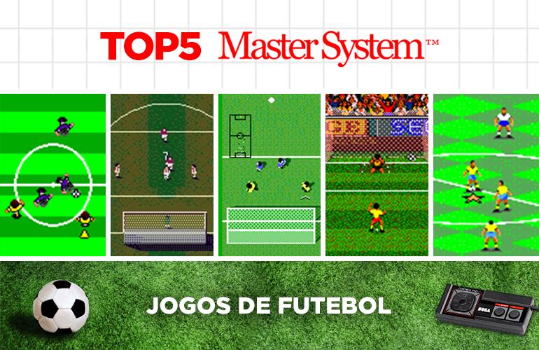 Top 5 – Jogos de Futebol Imperdíveis no Master System!