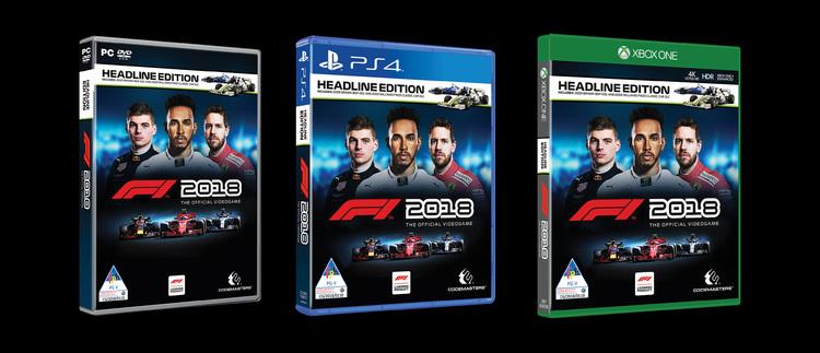 Segundo trailer de F1 2018 revela detalhes de gameplay e novos gráficos