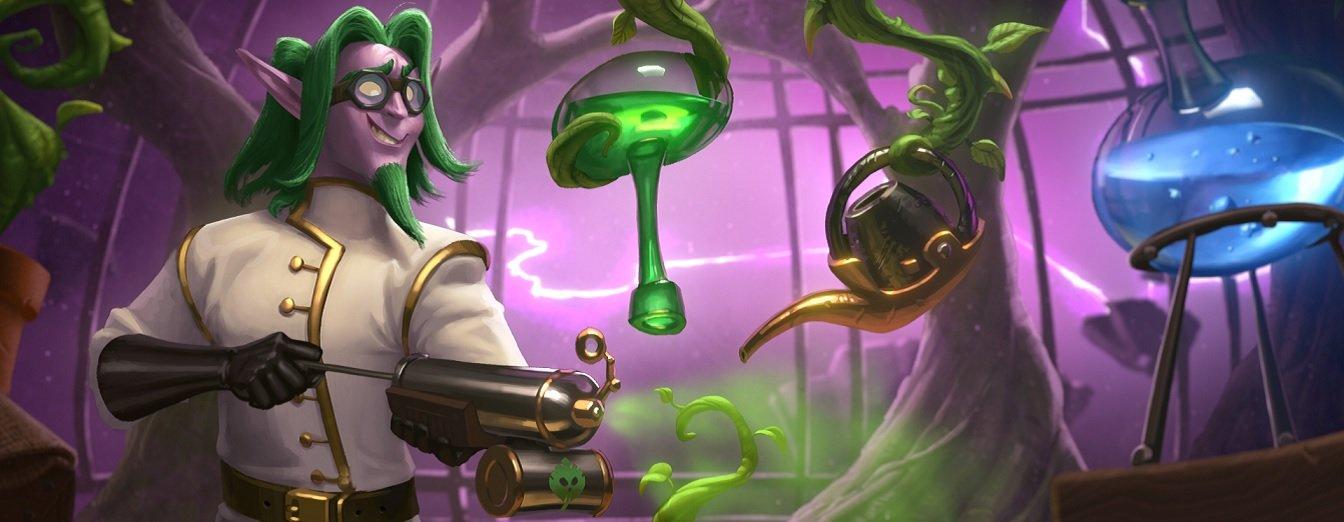 Hearthstone - Vencendo o Laboratório de Enigmas: Pollark