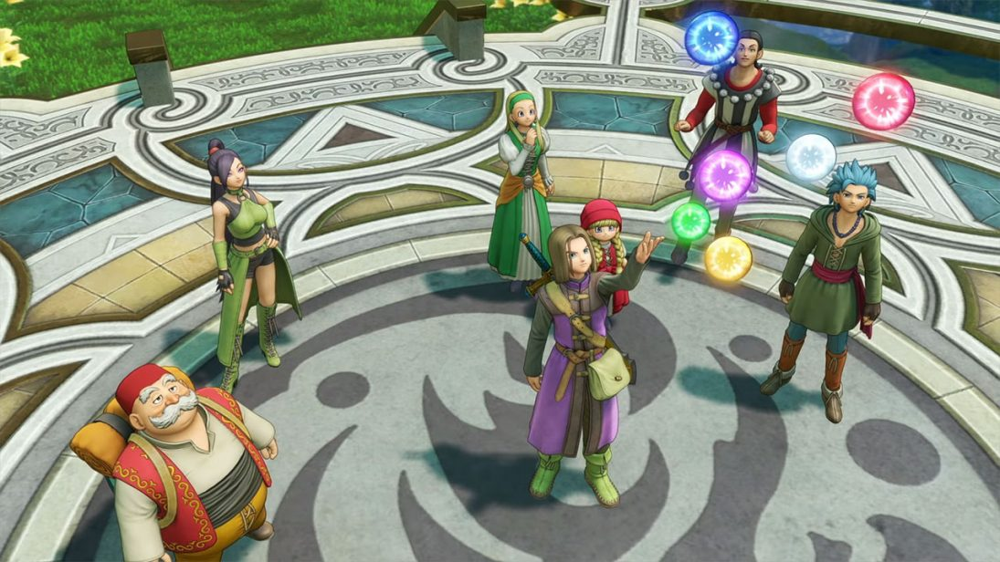 Novo trailer para Dragon Quest XI destaca os personagens do game