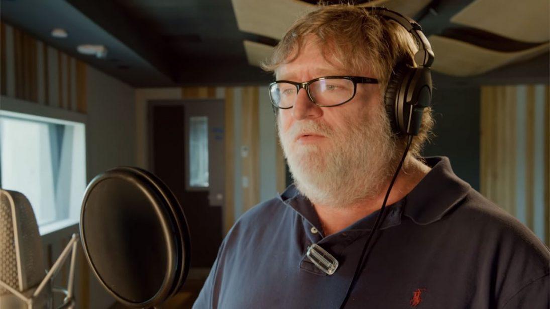 """Gabe Newell fica confuso ao precisar dizer a palavra """"três"""" em vídeo de Dota 2"""