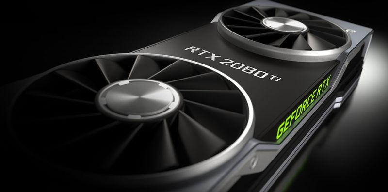 Benchmarks da NVIDIA apontam que RTX 2080 será 50% mais rápida que GTX 1080