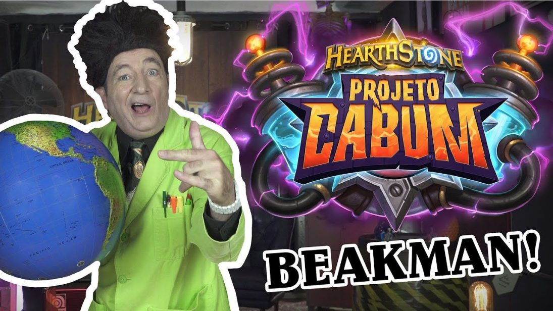 Beakman retorna para divulgar expansão de Hearthstone