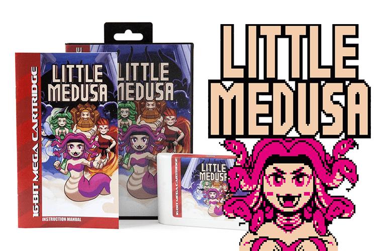 """Novo jogo """"Little Medusa"""" é lançado para Mega Drive"""