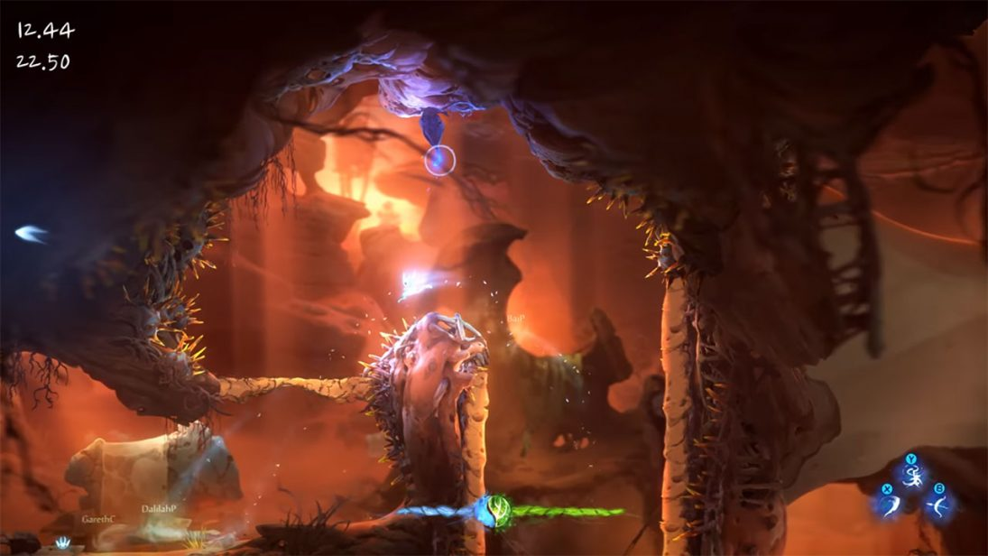 Vídeo para Ori and the Will of the Wisps apresenta novo modo de jogo