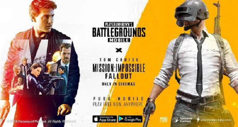 """Nova atualização de """"PUBG Mobile"""" traz conteúdo de """"Missão Impossível: Efeito Fallout"""""""