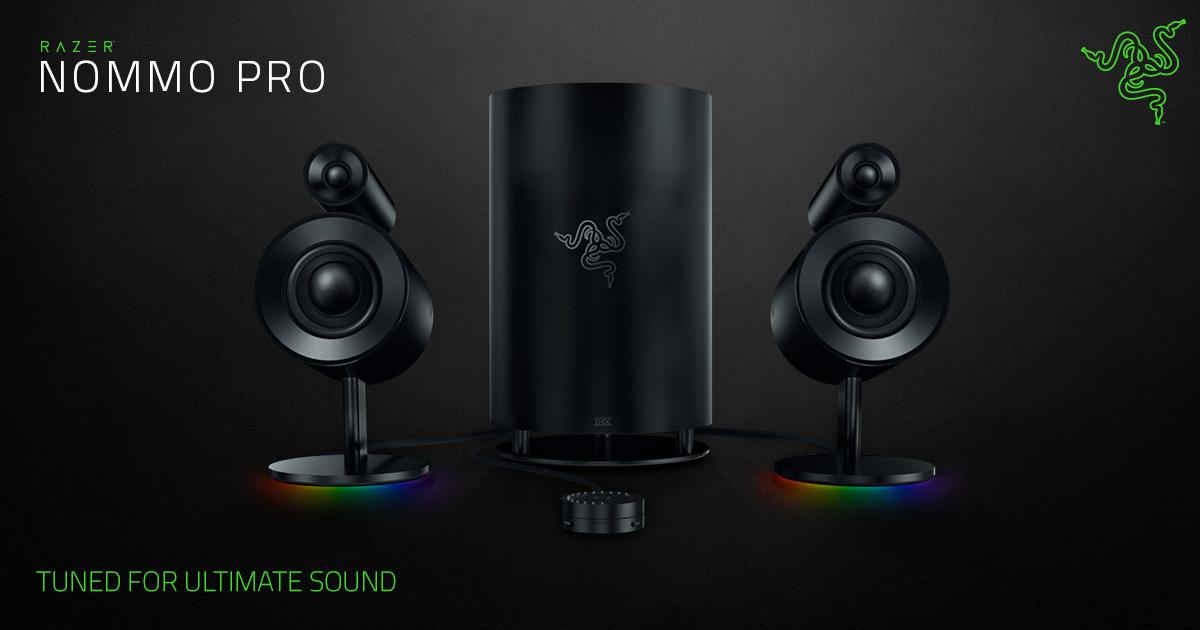 Nommo Pro, os novos alto-falantes 2.1 da Razer chegam ao Brasil