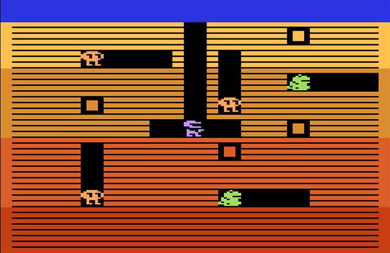 Dig Dug – O clássico da Namco nos arcades em versão para Atari 2600!