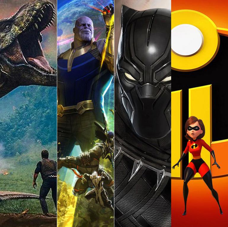 Top 10 - Filmes Mais Vistos em 2018 (setembro)