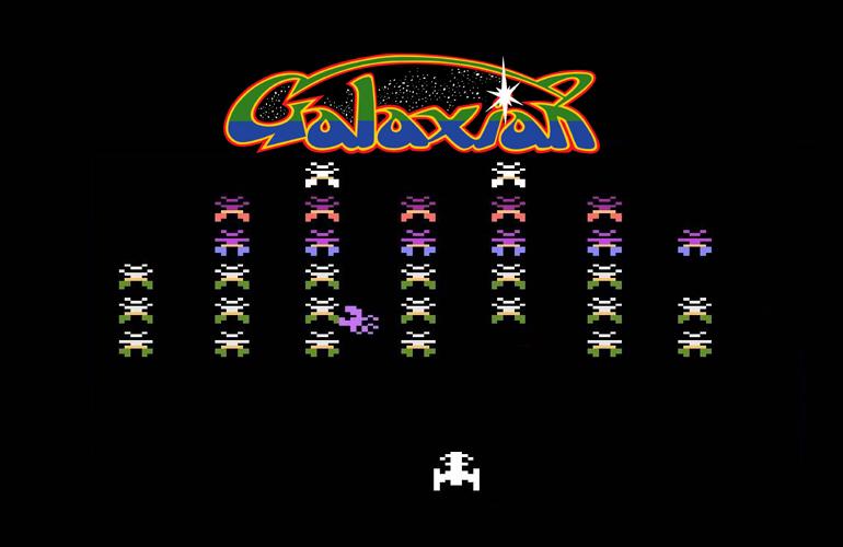 Galaxian – Combates espaciais na tela do seu Atari neste clássico da Namco!